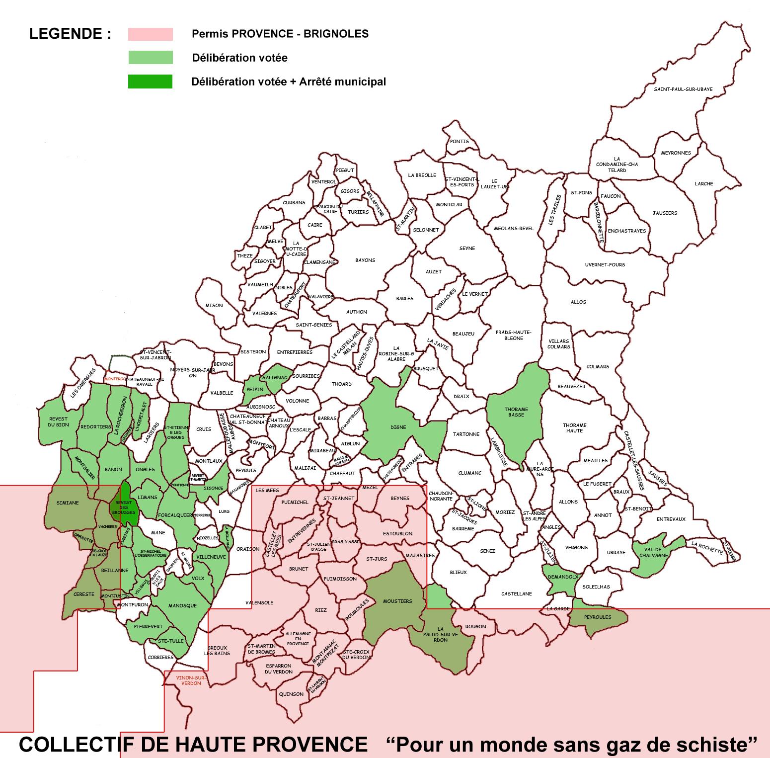 Collectif 04 gaz de schiste provence for Haute provence