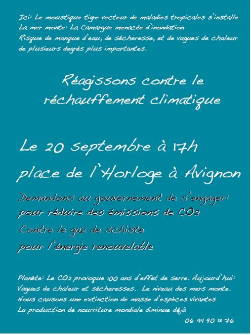 2014-09-20-Affiche marche climat Avignon