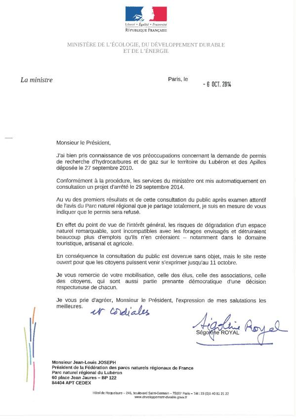 2014-10-07-courrier_Segolene_Royal à JLJ