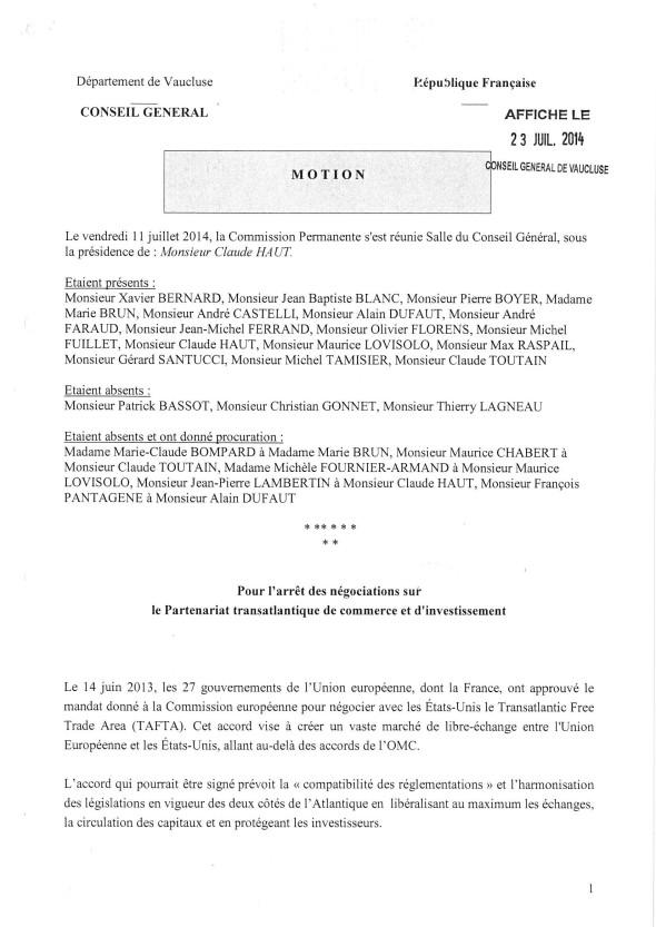 Motion TAFTA CG84-P1